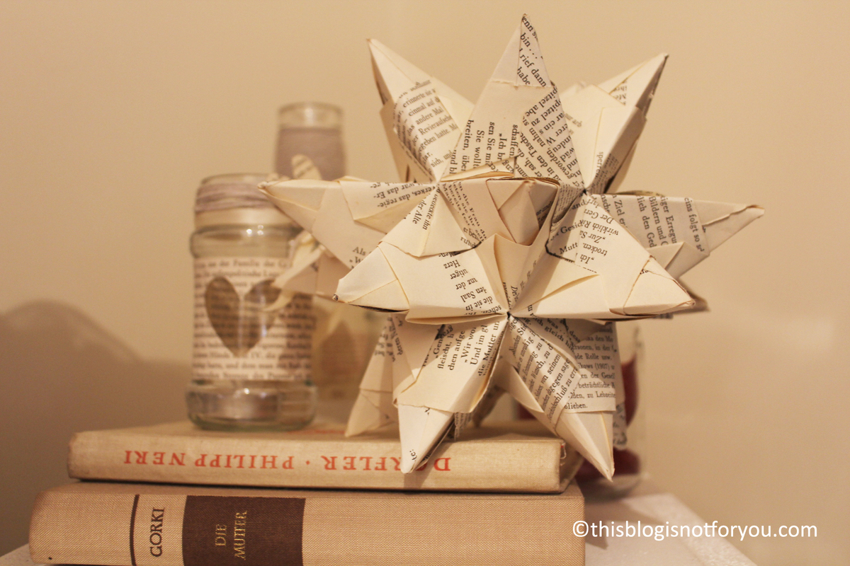 the brightest star in the sky [3D paper star tutorial ...