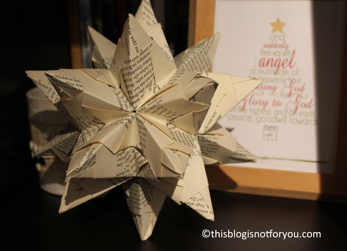 the brightest star in the sky [3D paper star tutorial] – This Blog ...