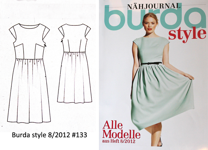 Burda Dress Patterns 2014