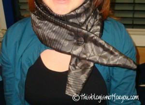 festive scarf