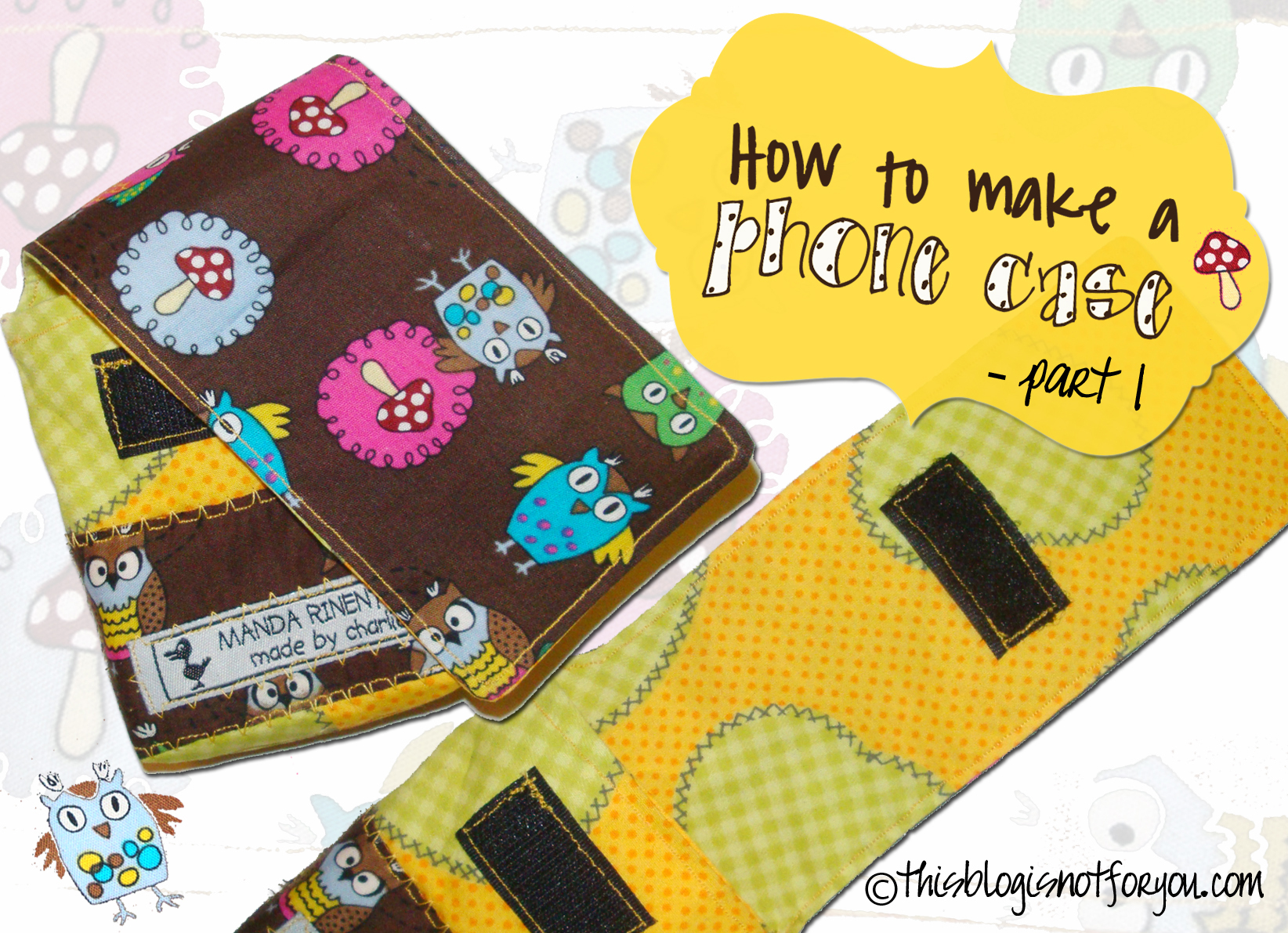 How to make a mobile phone case the custom pattern for How to make phone cases at home