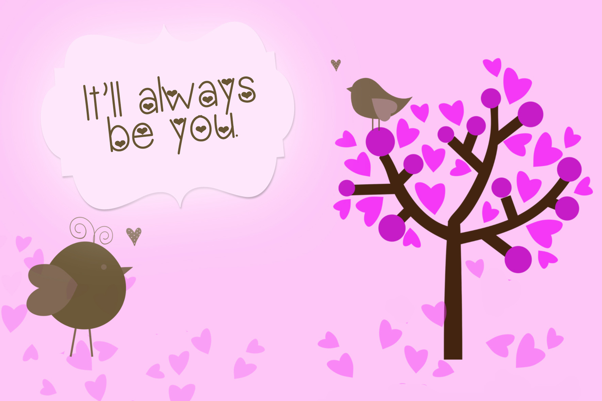 it will always be you Free Printable Valentine's Day Card