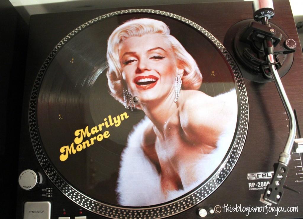 marilyn monroe vinyl