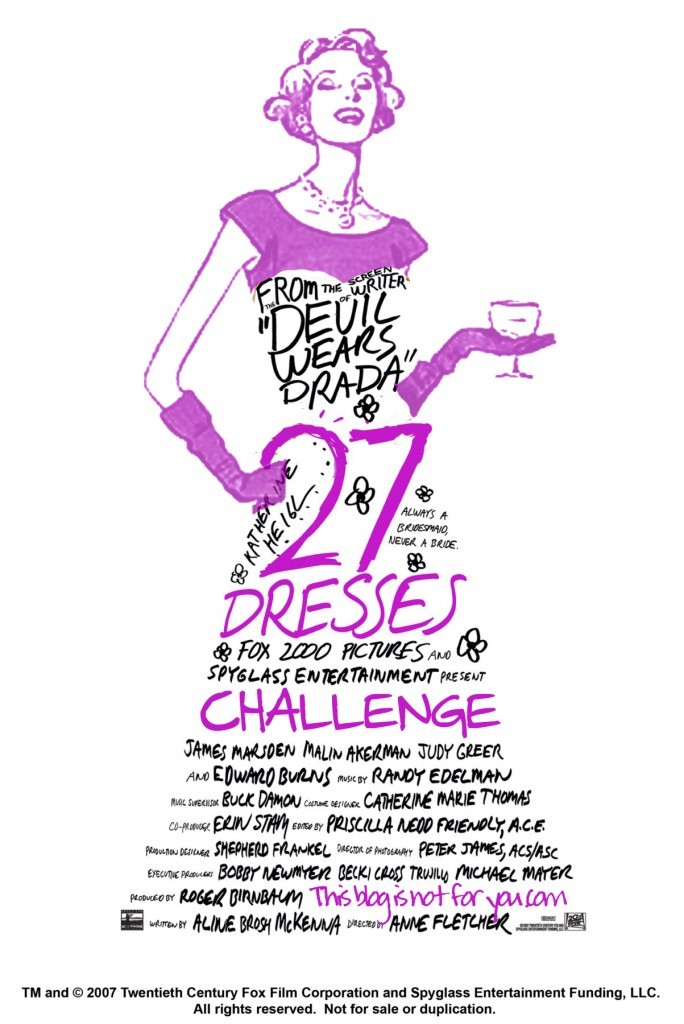 27dresses challenge by thisblogisnotforyou.com