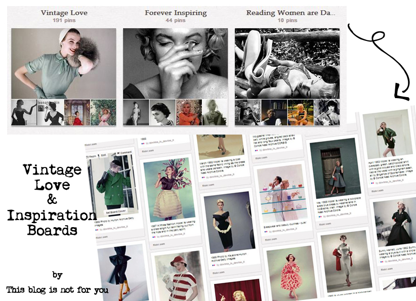 vintage pinterest boards by thisblogisnotforyou.com
