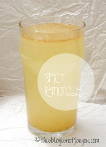 spicy lemonade juice