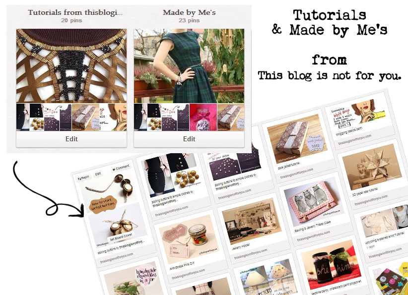 tutorials and made by mes pinterest boards by thisblogisnotforyou.com