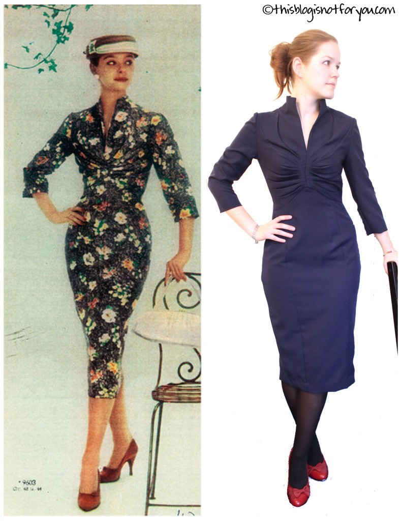 Audrey Hepburn sheath dress by thisblogisnotforyou.com