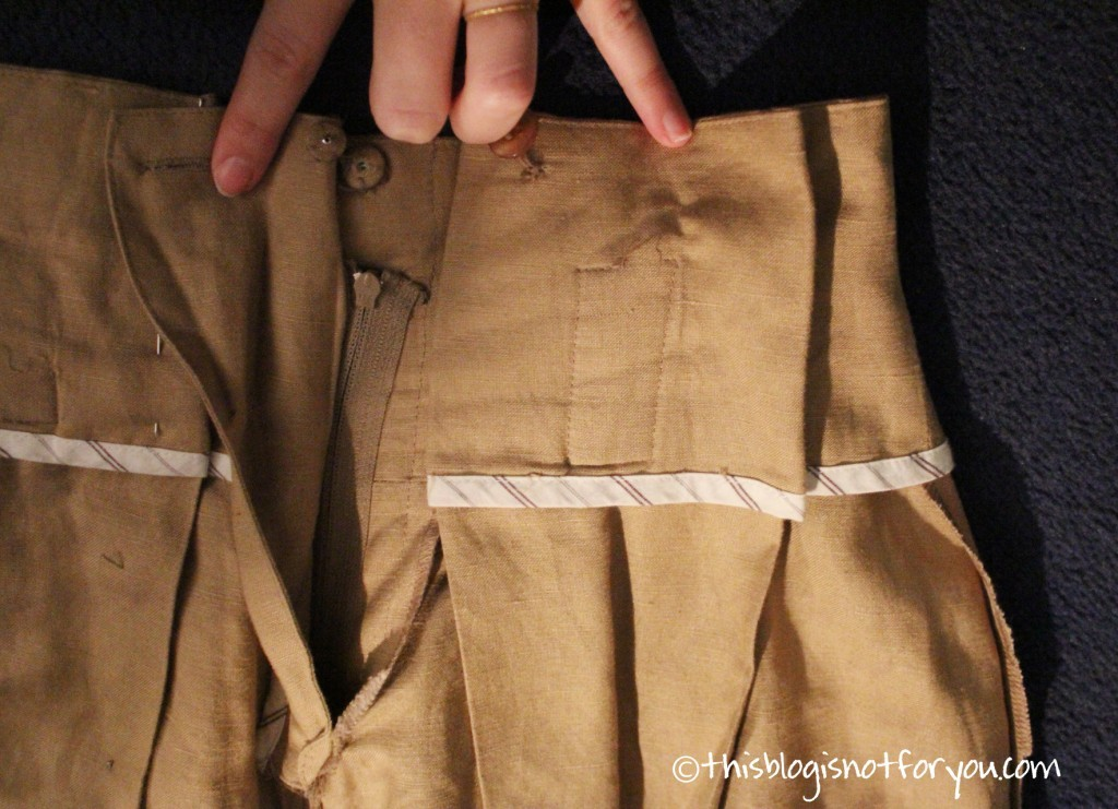 paperbag waist shorts rub-off by thisblogisnotforyou.com
