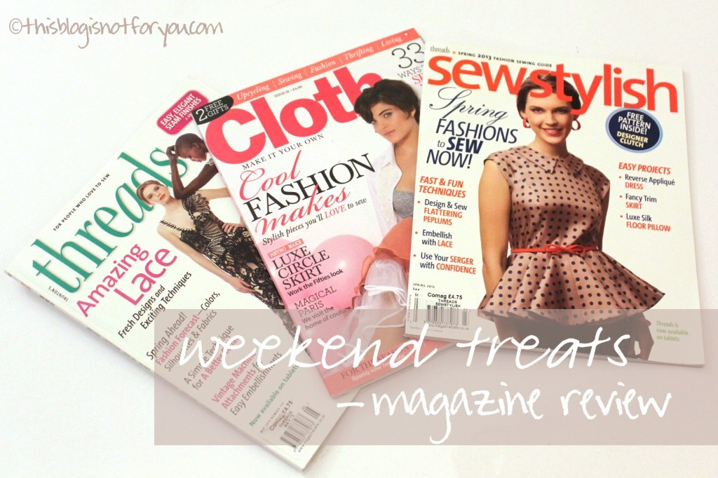 sewing magazine review by thisblogisnotforyou.com