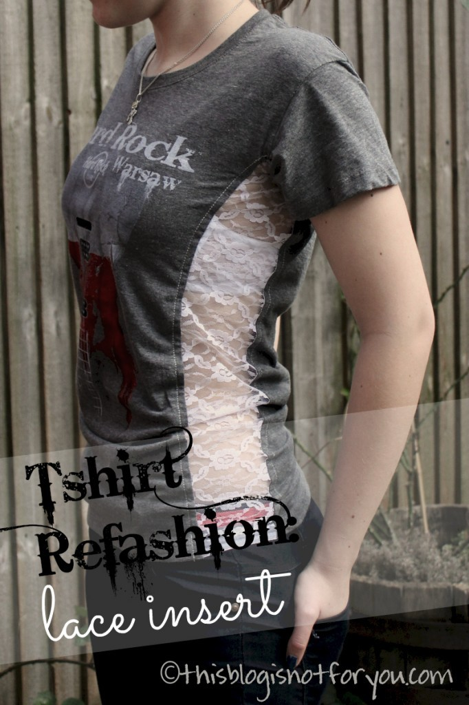tshirt refashion with lace insert by thisblogisnotforyou.com