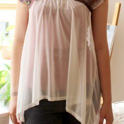 draped butterfly shirt by thisblogisnotforyou.com