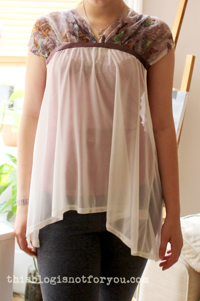 draped butterfly shirt by thisblogisnotforyou.dev