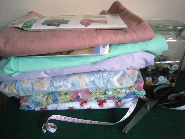 summery fabric stash the dressmaking diaries