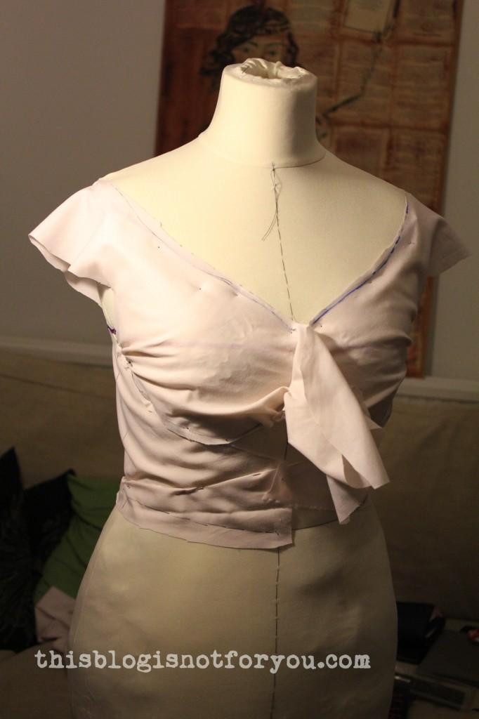 altering a dressform by thisblogisnotforyou.com