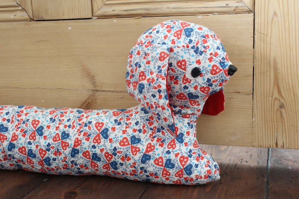 liberty dog draught excluder