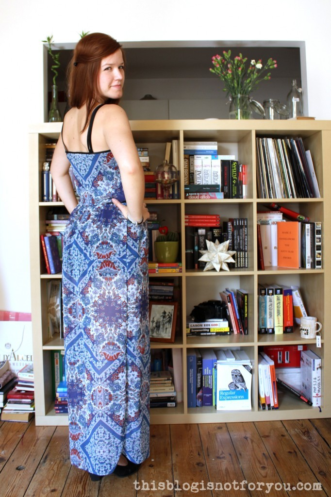 maxi dress by thisblogisnotforyou.com