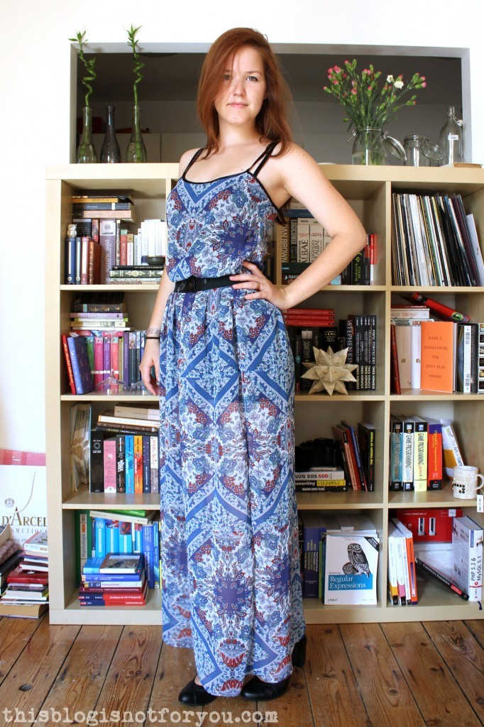 maxi dress by thisblogisnotforyou.dev