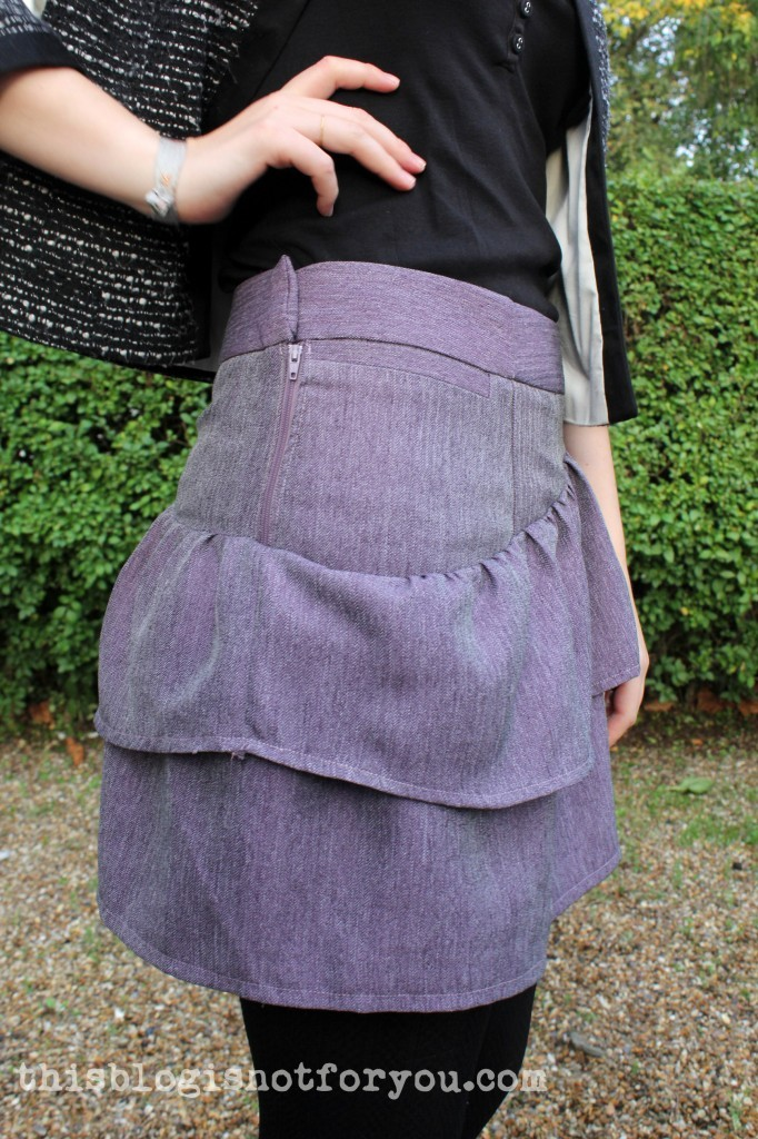 Autumn Skirt Refashion by thisblogisnotforyou.com