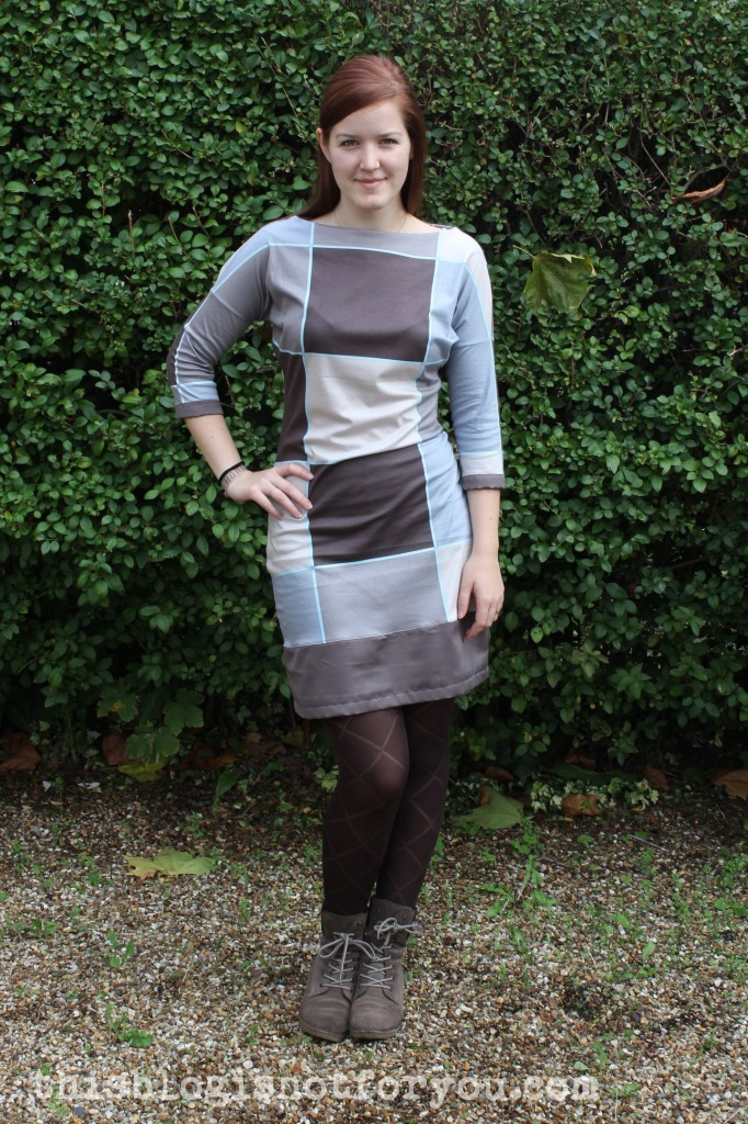 no pattern jersey dress by thisblogisnotforyou.dev