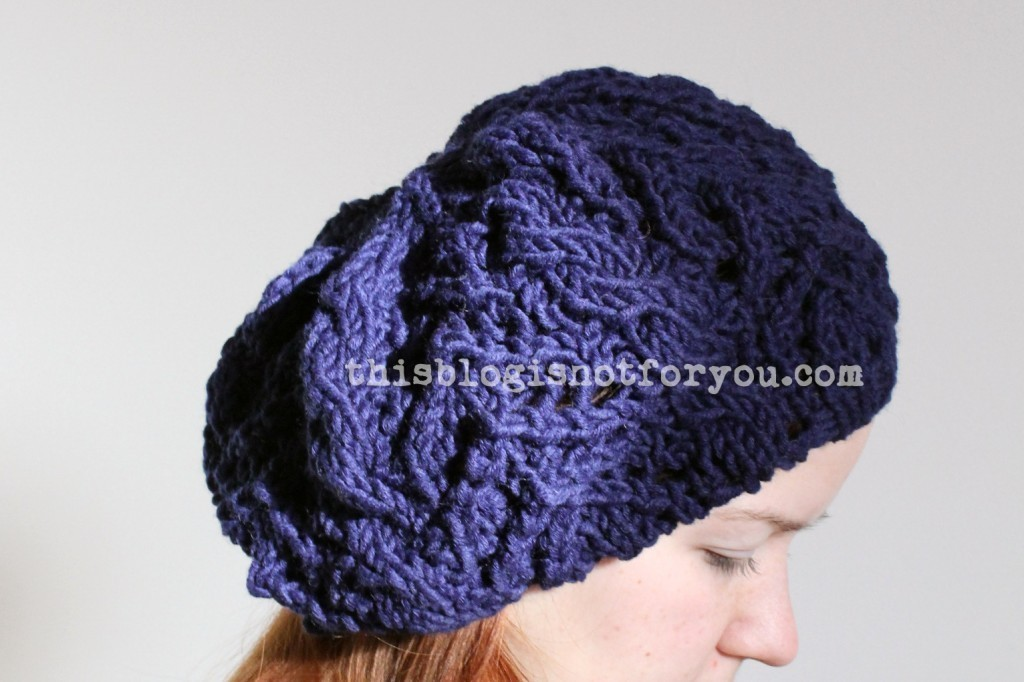 Free Knitting Pattern Slouchy Beanie This Blog Is Not For You