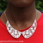 DIY Lace Collar Necklace by Thisblogisnotforyou.com