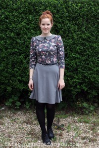 Vintage Lady Skater Dress by Thisblogisnotforyou.com