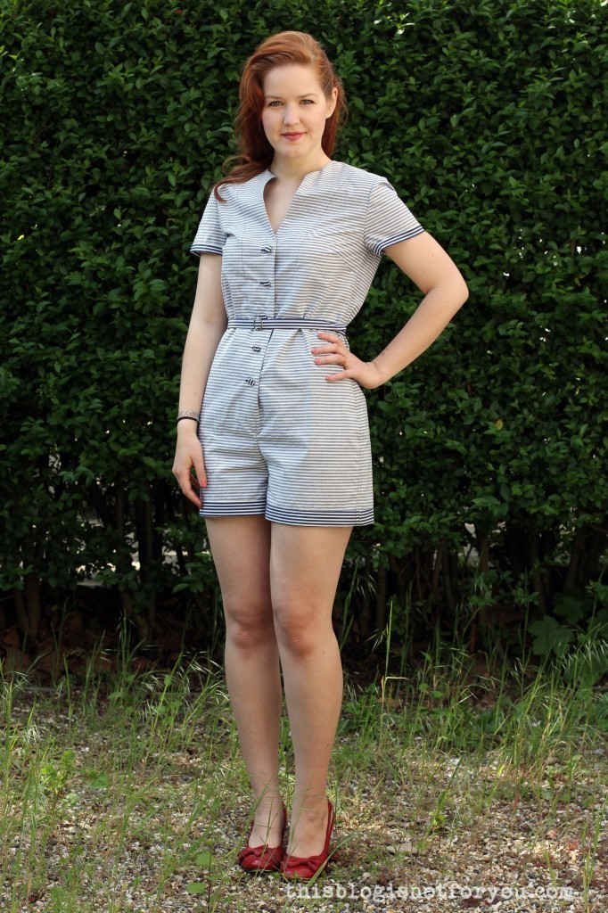 The Notebook Playsuit by thisblogisnotforyou.com