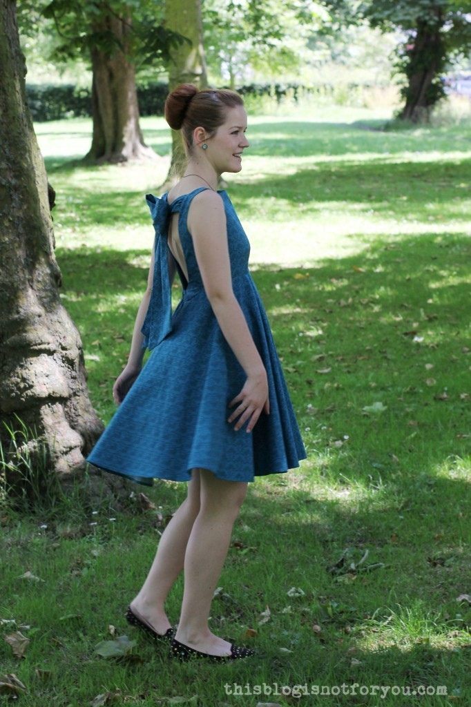 V1102 John Lewis Sewing Bee Dress by thisblogisnotforyou.com