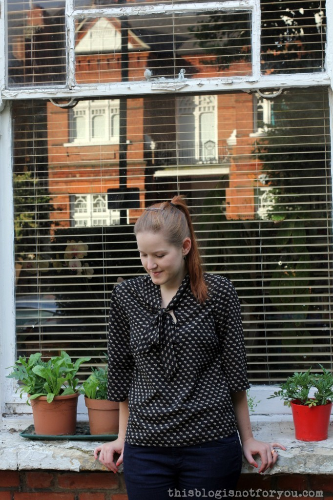 The Lottie Blouse by thisblogisnotforyou.com
