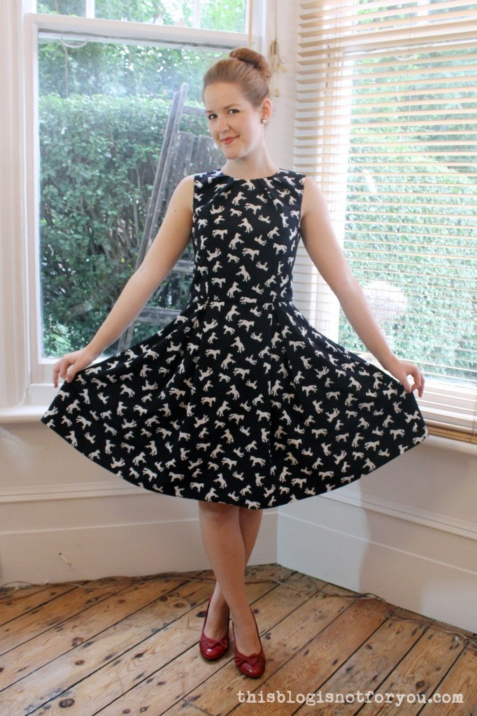 The Hepburn Dress by Thisblogisnotforyou.com