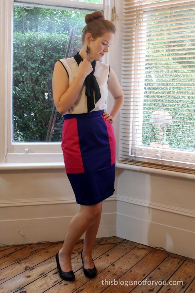 Hepburn Skirt by thisblogisnotforyou.com