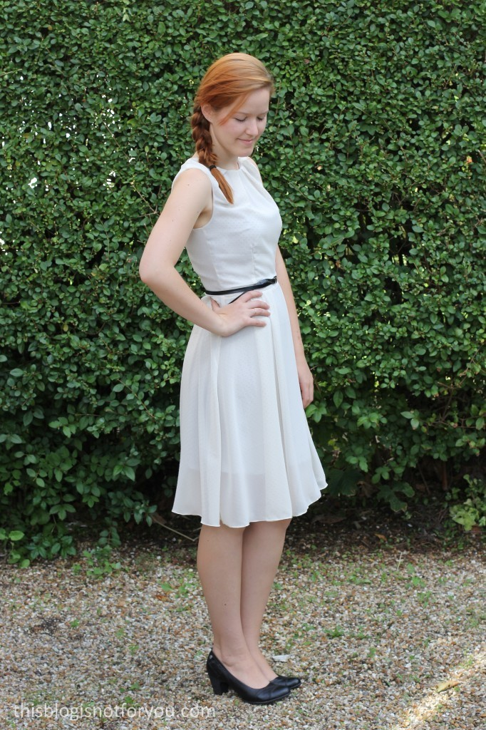 Hepburn Dress by thisblogisnotforyou.com
