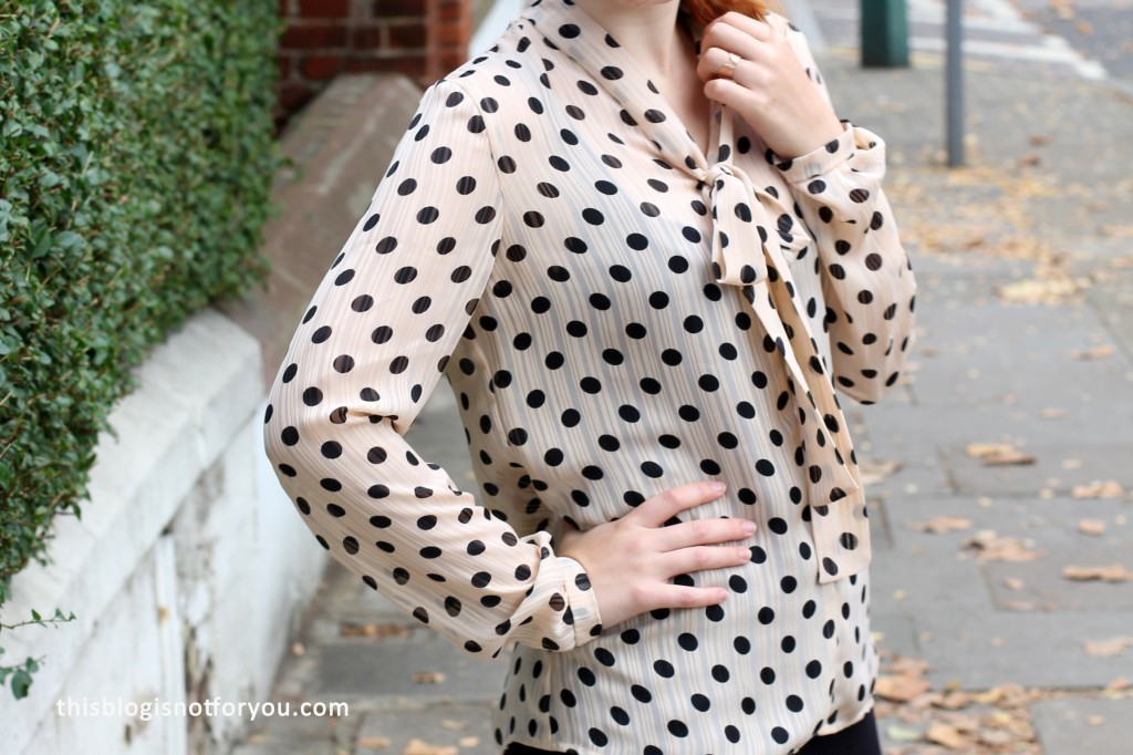 Sew Over It Pussy Bow Blouse by thisblogisnotforyou.com