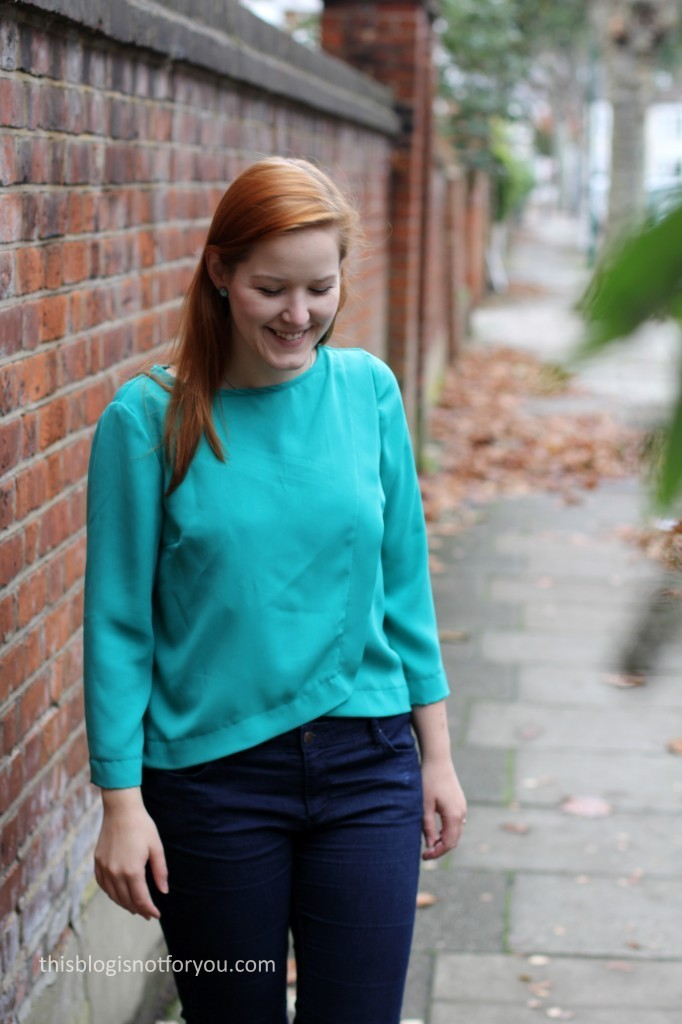 Burda Wrap Blouse 04/2014 #115 by thisblogisnotforyou.com