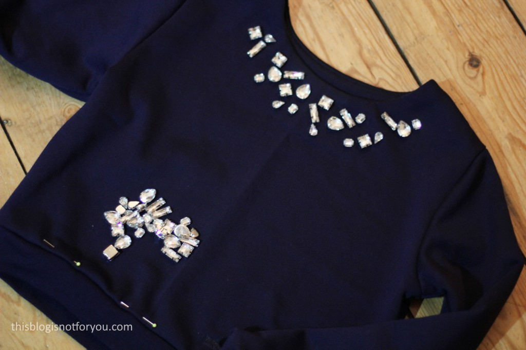 embellished cropped coco sweater by thisblogisnotforyou.com