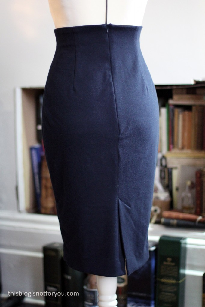 Ultimate Pencil Skirt by Thisblogisnotforyou.com