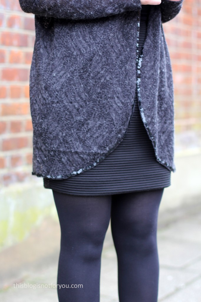 LBD and Cardi by thisblogisnotforyou.com