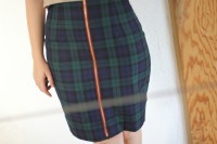 Sew Over It pencil skirt with front zip