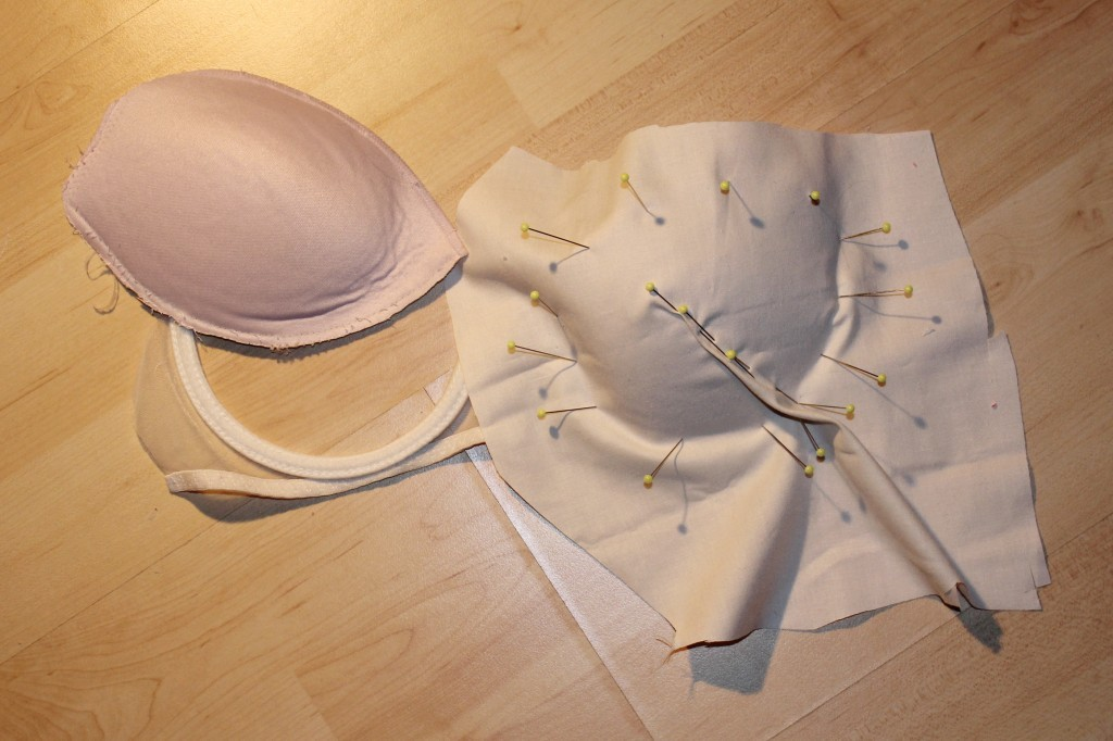 Wedding dress part iv the story of the corset this blog for Best sew in bra cups for wedding dress