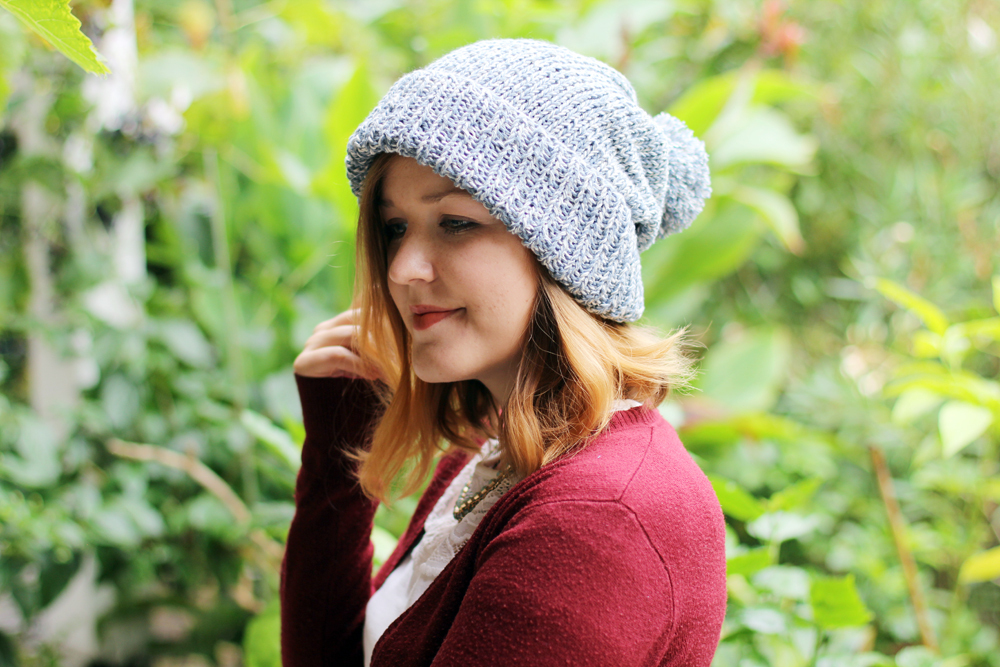 Recycled Denim Beanie by Thisblogisnotforyou.com (Click through for more info & pics)