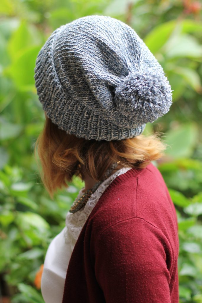 Recycled Denim Beanie by Thisblogisnotforyou.com