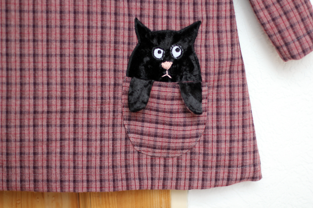 Toddler Kitten Dress by thisblogisnotforyou.com