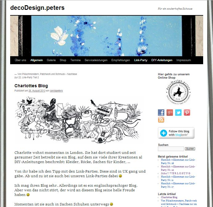 Blog Feature Deco Design Peters