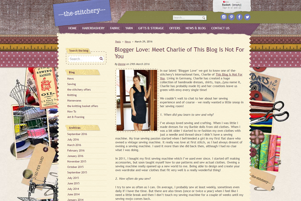The Stitchery Interview Thisblogisnotforyou.com