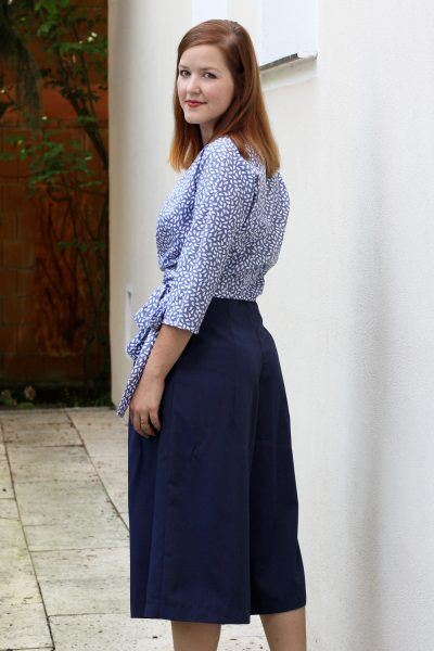 SOI Ella Blouse and Burda Culottes by thisblogisnotforyou.com