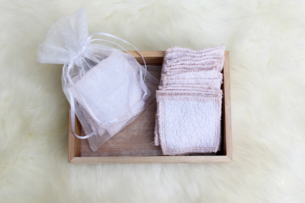 Make Zero Waste Reusable Cotton Pads from Recycled Towels